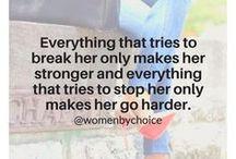 women by choice :)