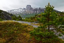 Autumn in Northern Norway / Pictures from my hikes during autumn in Northern Norway
