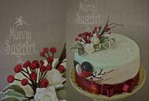 Murvai SugArt cake