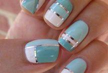 nail art mint