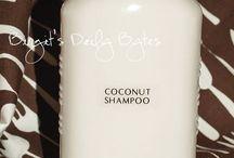 shampoo and clarifying rinse