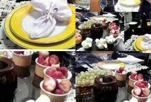 Mesa para fondue