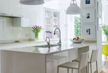 Kitchen Ideas / Stunning kitchen designs mixed with practical functionality