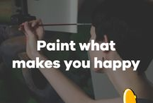Painting Quotes / Some quotes for those who love painting just like us!