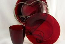 Red Ruby Glass