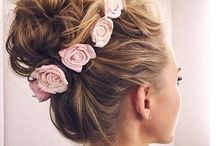 Hair flowers for updos and weddings