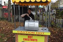 Roasted Chestnuts / If you love roasted chestnuts, are interested in their history and origin and are looking for a professional and reliable service then contraband's roasted chestnut stall is ideal. Roasted chestnuts to hire are a real unique touch to any occasion. Contact: +44 (0)208 829 1140 info@contrabandevents.com