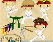 Martial arts cards