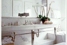 Bathroom Inspiration / by Kathy Sreenan