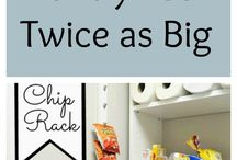 Food Storage and Organization Ideas