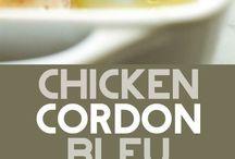 chicken cordon blue lasagne