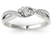 small diamond rings