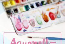Aquarelle Anleitungen