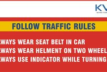 Traffic Rules / KV Developers provides useful points when you are driving.