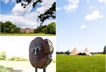 Tipi Wedding Inspiration / #tipiwedding