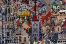 Germany, Bavaria e i suoi paesaggi