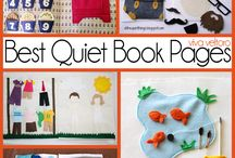Quiet book, busy book inspirace