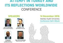 "Eurasian Universities Union #EURAS to host an important conference for #Turkey / As #IAU #ErasmusTeam we will attend the "" Failed Coup Attempt and Its Reflections Worldwide"" #conference on #November14 organized by #EURAS"