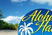 #Hawaiiparty # Beachparty / Hier finden Sie alles für die perfekte #Hawaiiparty! #Baströcke, #Blumenketten, #Hulaketten und vieles mehr...