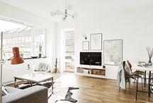 Salas de Estar e Jantar / Idéias de decoração para salas de estar e salas de jantar!