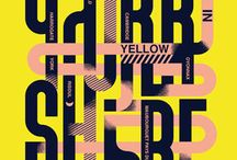 Typorama / Typography & type based art