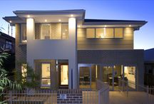 The Lydden / Images of our two storey narrow lot design - The Lydden. On display at The Ponds