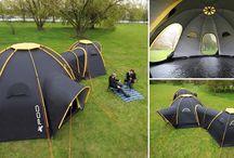 acampada y camper