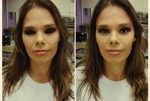 """Make up / """"Ver que o corpo serve como uma tela, banhado de cores."""""""