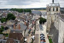 Loire/ Frankreich / Reise entlang der Loire von Amboise und Tours nach Candes