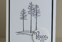 Stampin up Thoughtful Branches cards