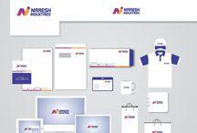 Brand Identity Mockup for corporates