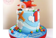 air plane cakes