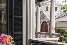 Лоджии/балконы/терассы