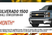 New Vehicle Specials / Find our monthly specials for our new vehicles here!