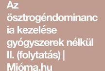 ösztrogén dominancia
