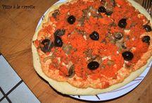 Pizza, tartes et quiches salées