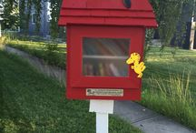 "Little Free Libraries in Calgary / Little Free Libraries are popping up in front yards throughout Calgary. Creative and colorful mini libraries that are loaded with free books. Here are some of Calgary's wonderful library designs and their ""accessories"". Here are Calgary  locations; https://www.google.com/maps/d/viewer?mid=142LSZqya7yRapx6wKZiKv5N2rxg"