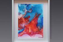 Coral Sea, Coral Reef, Underwater / www.etsy.com/shop/EmiliaSwitalaArtist contact@emiliaswitala.com, www.emiliawitala.com #art #artist #Painter #Contemporaryart #Contemporarypaintings #Contemporaryartist #Abstractart #Abstractpaintings #Largeartprints #Artprints #Artforinterior #Artforinteriors #artwork #Bilder #pinturas #painting #paintings #minimalart #minimalism #abstractexpressionism #colorfield #colorfulart #modernart #watercolor #acrylic #coralsea #underwaterart #ocean #underwater #deepseaart