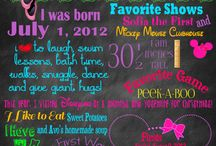 Baby girl first party themes