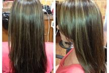 Hair by Kelly Pool @ Chatters Stonegate Saskatoon.