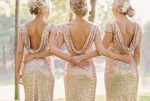 Weddings ~ All That Glitters / Sparkles, Sequins and Glitter add perfection to any wedding!
