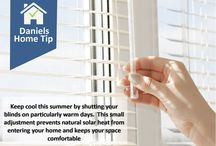 Daniels Home Tips / Show your home some love. Here are some tips for easy home care, cleaning, organizing, energy savings, decor and much more!