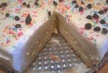 White truffle cake / White truffle cake