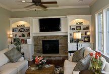Family room remodel / by Diane Weakland Luli