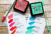 distress ink colours