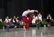 Cultural Dances / The dancers at the Holiday Folk Fair International in Wisconsin