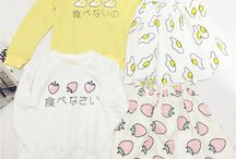 "T-shirt / Use coupon code ""cutekawaii"" for 10% off at https://www.sanrense.com/"
