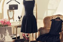 Fabulous Fashions - LBD / The Little Black Dress and all that goes with it.