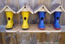krásný nápad na ptačí budku