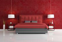 dormitorios rojo